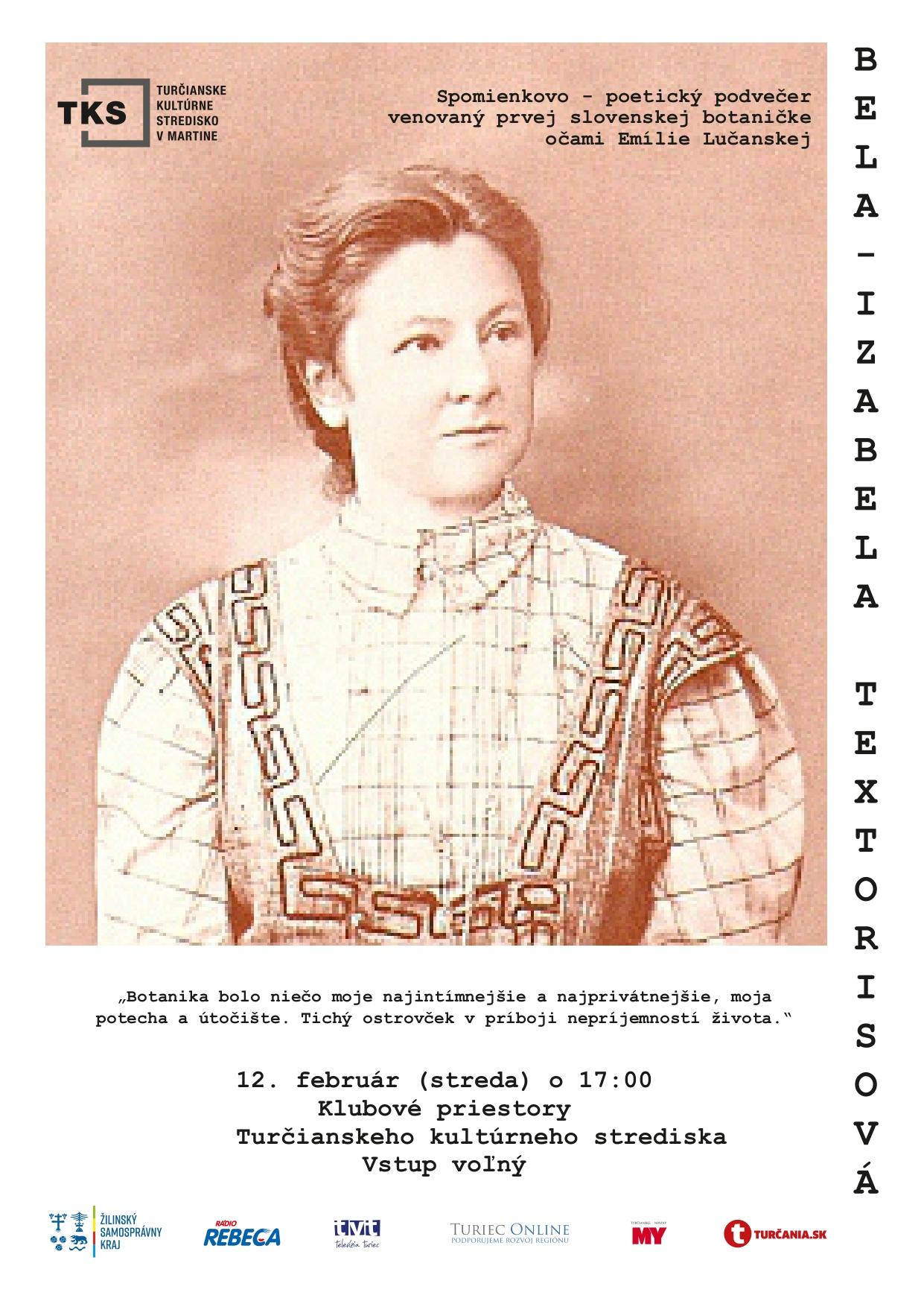 Bela Izabela Textorisová