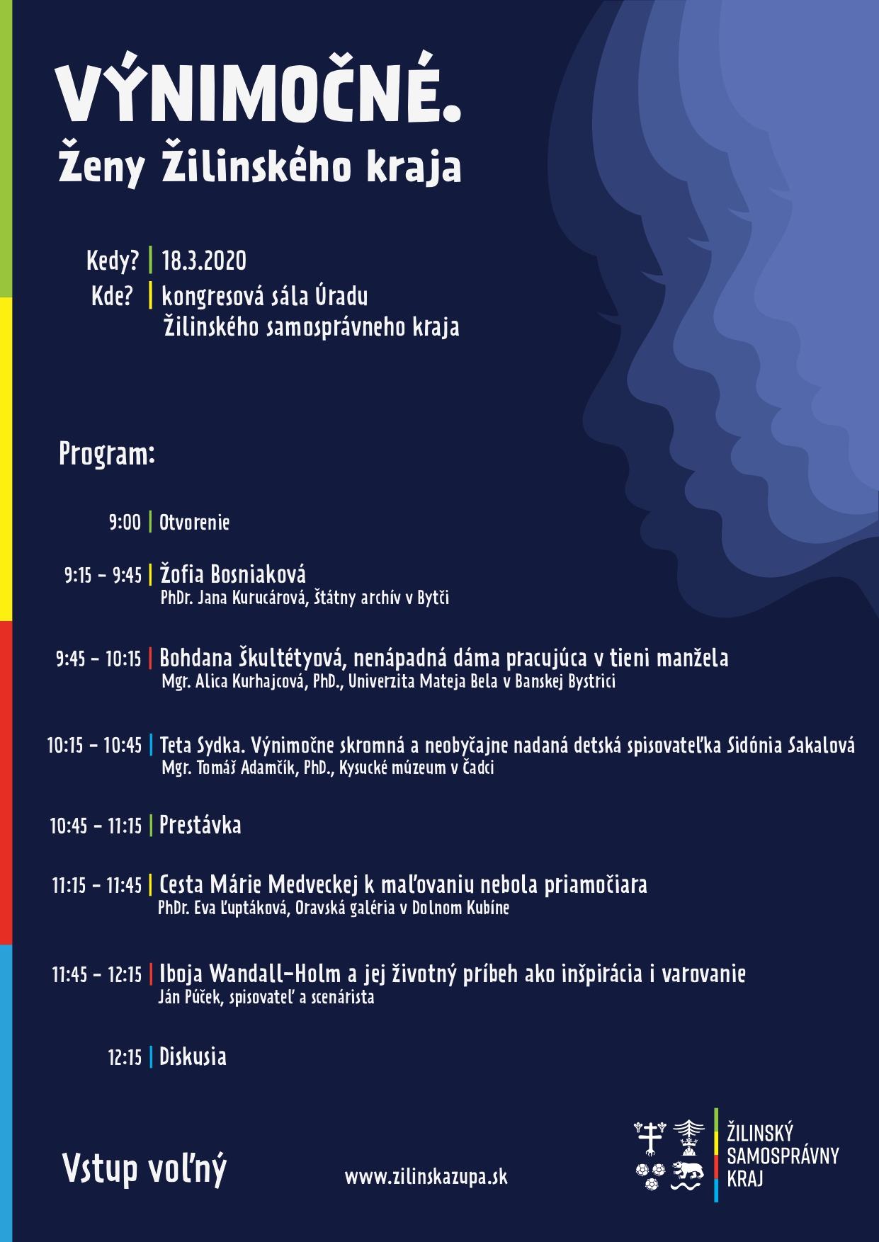 Konferencia o výnimočných ženách Žilinského kraja