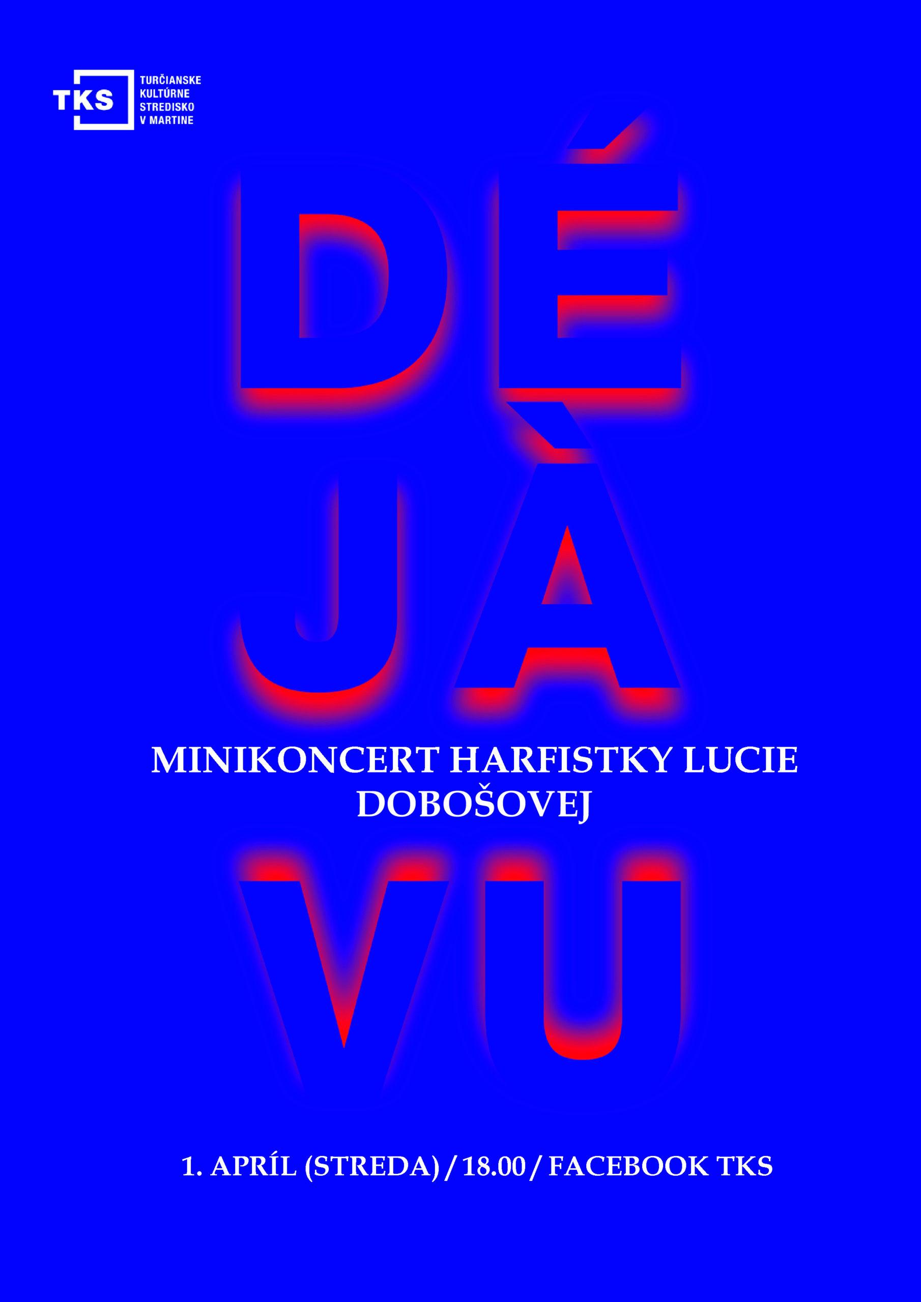 Minikoncert harfistky Lucie Dobošovej