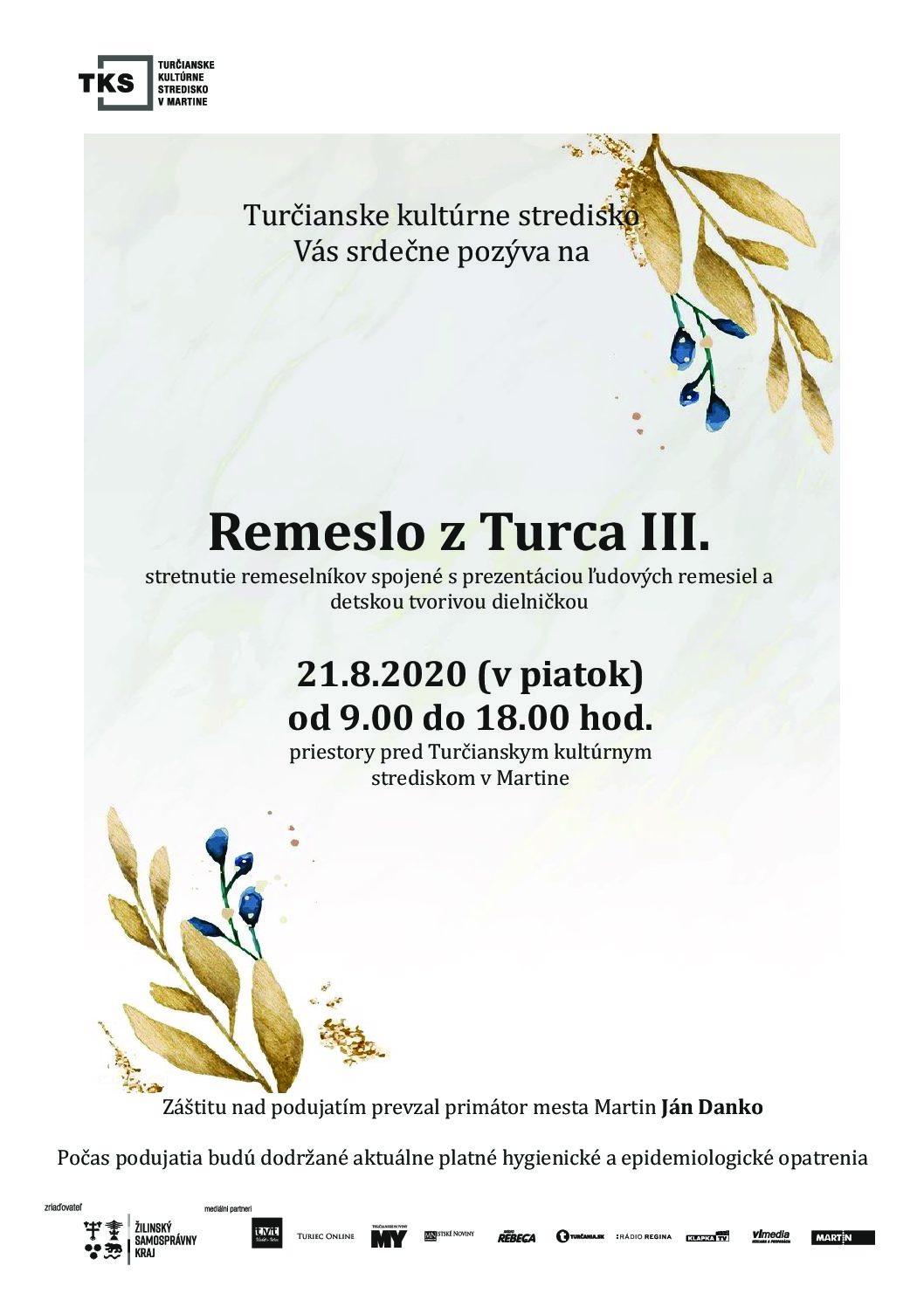 Remeslo z Turca III.