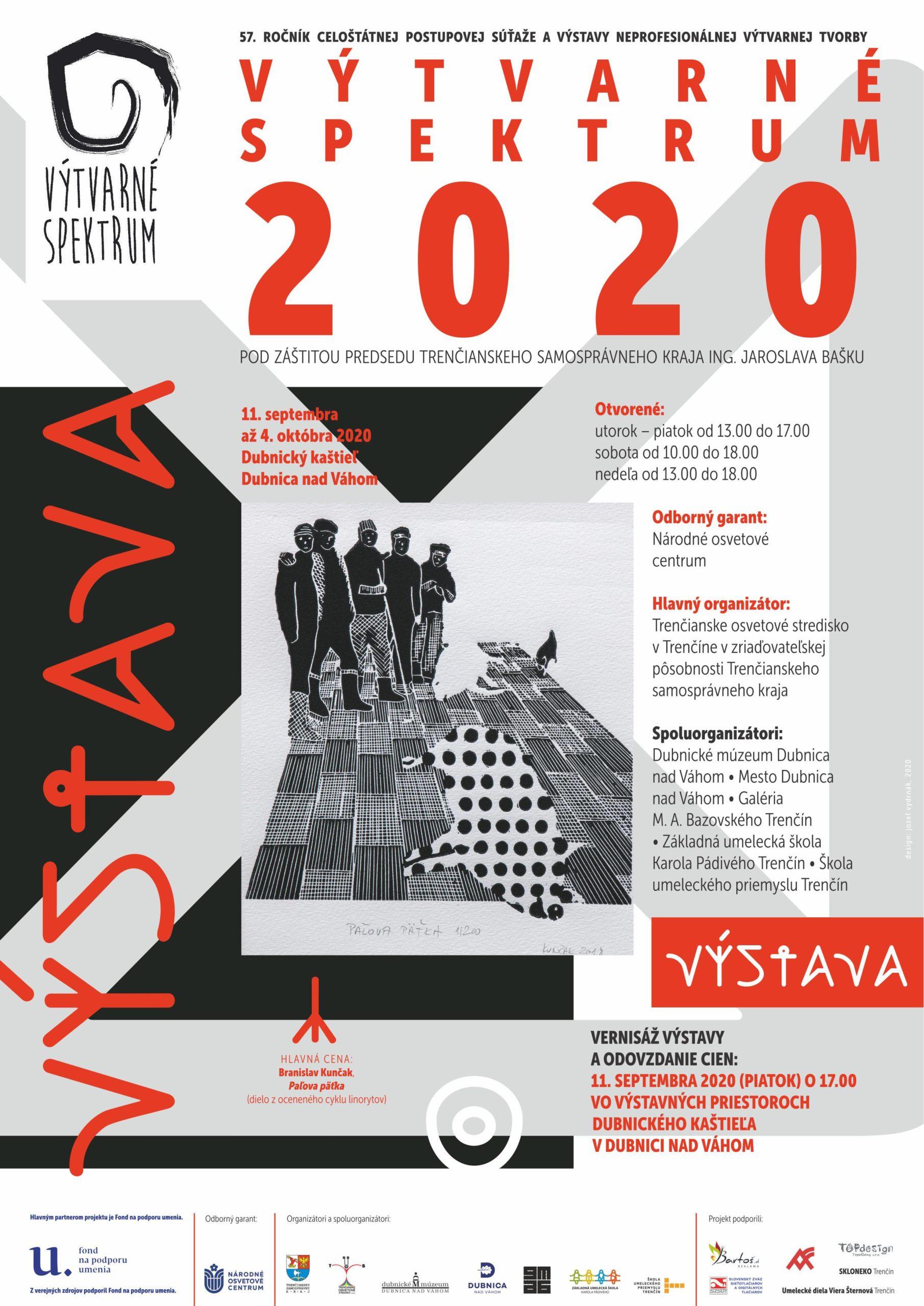 Vyhodnotenie celoštátneho kola súťaže Výtvarné spektrum 2020