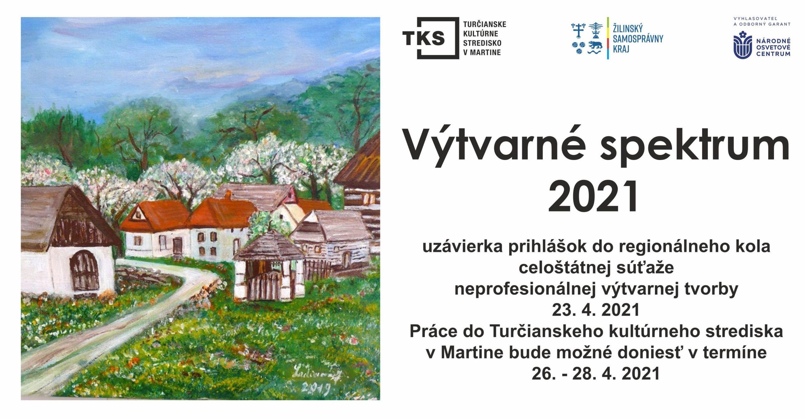 Výtvarné spektrum 2021 prihlásenie a propozície