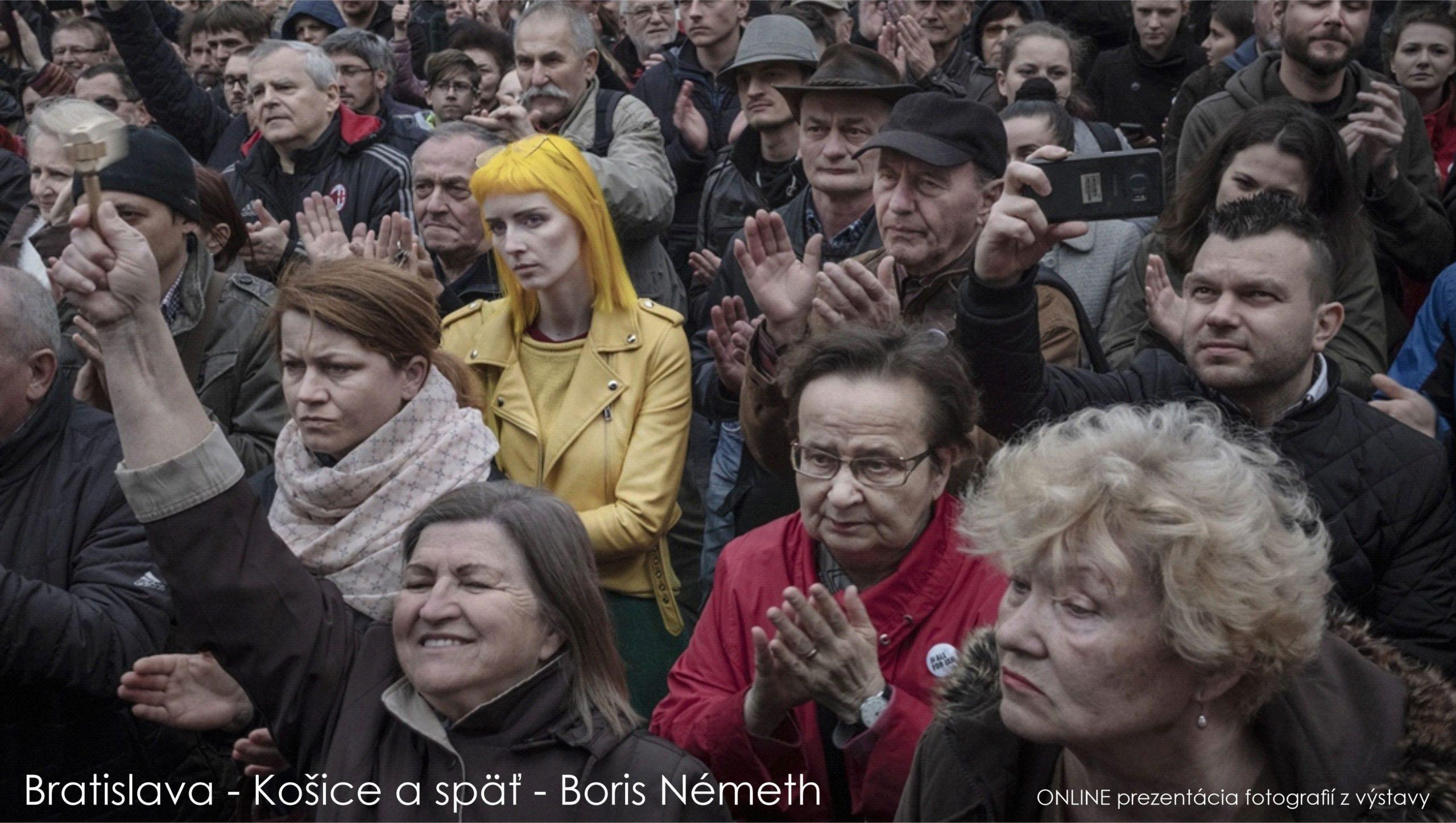 Bratislava – Košice a späť Boris Németh – ONLINE výstava