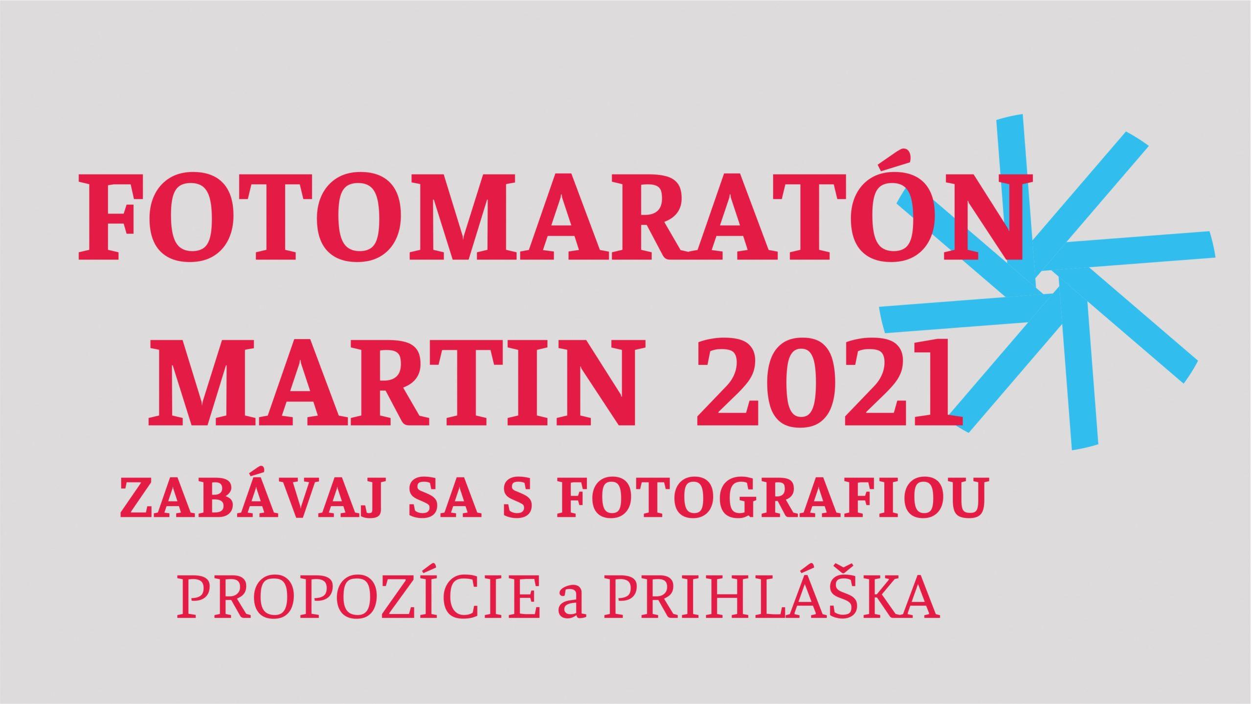 FOTOMARATÓN MARTIN – zabávaj sa s fotografiou – propozície a prihláška
