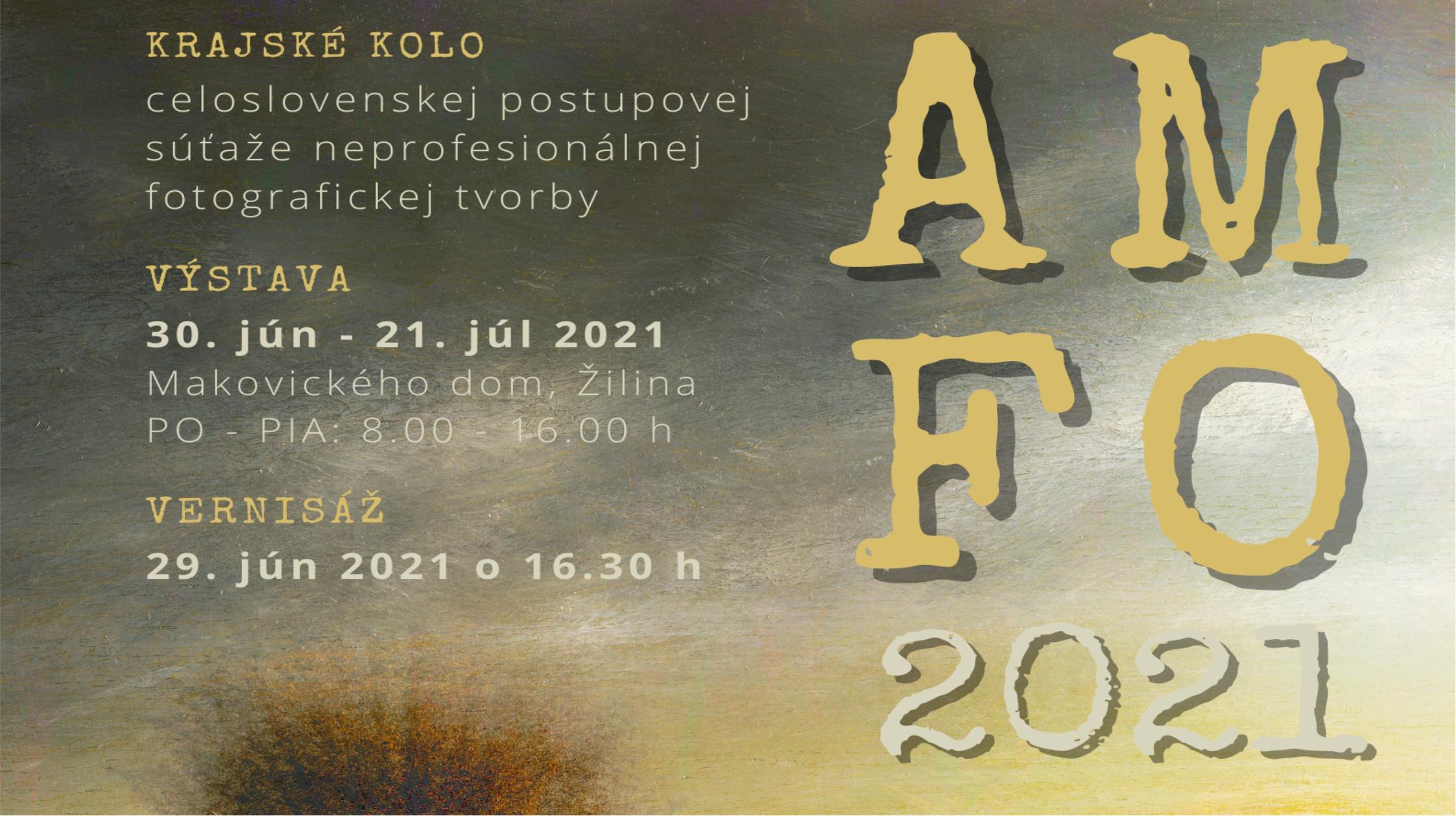 AMFO 2021 výsledky kraj