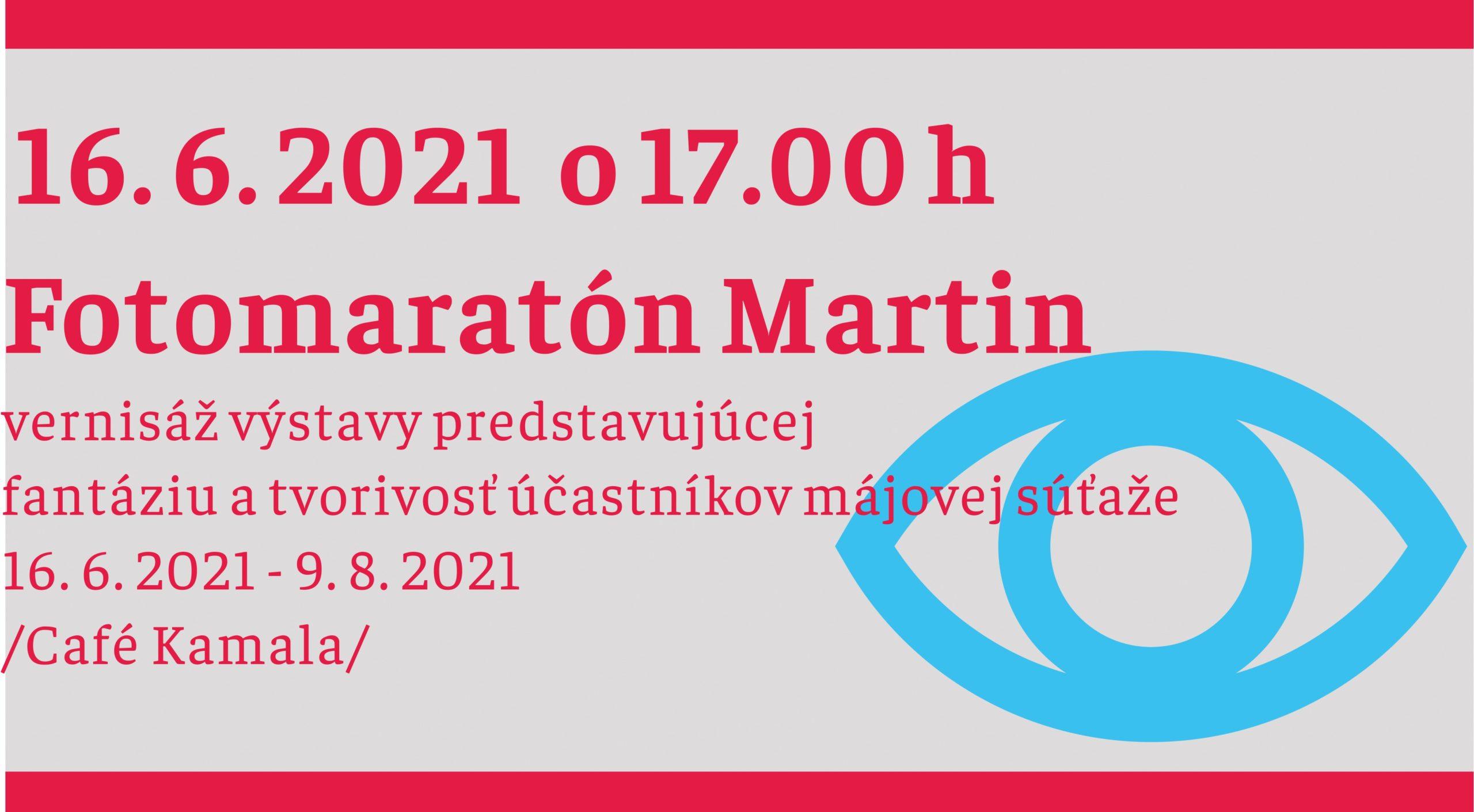 FOTOMARATÓN MARTIN 2021 – zabávaj sa s fotografiou