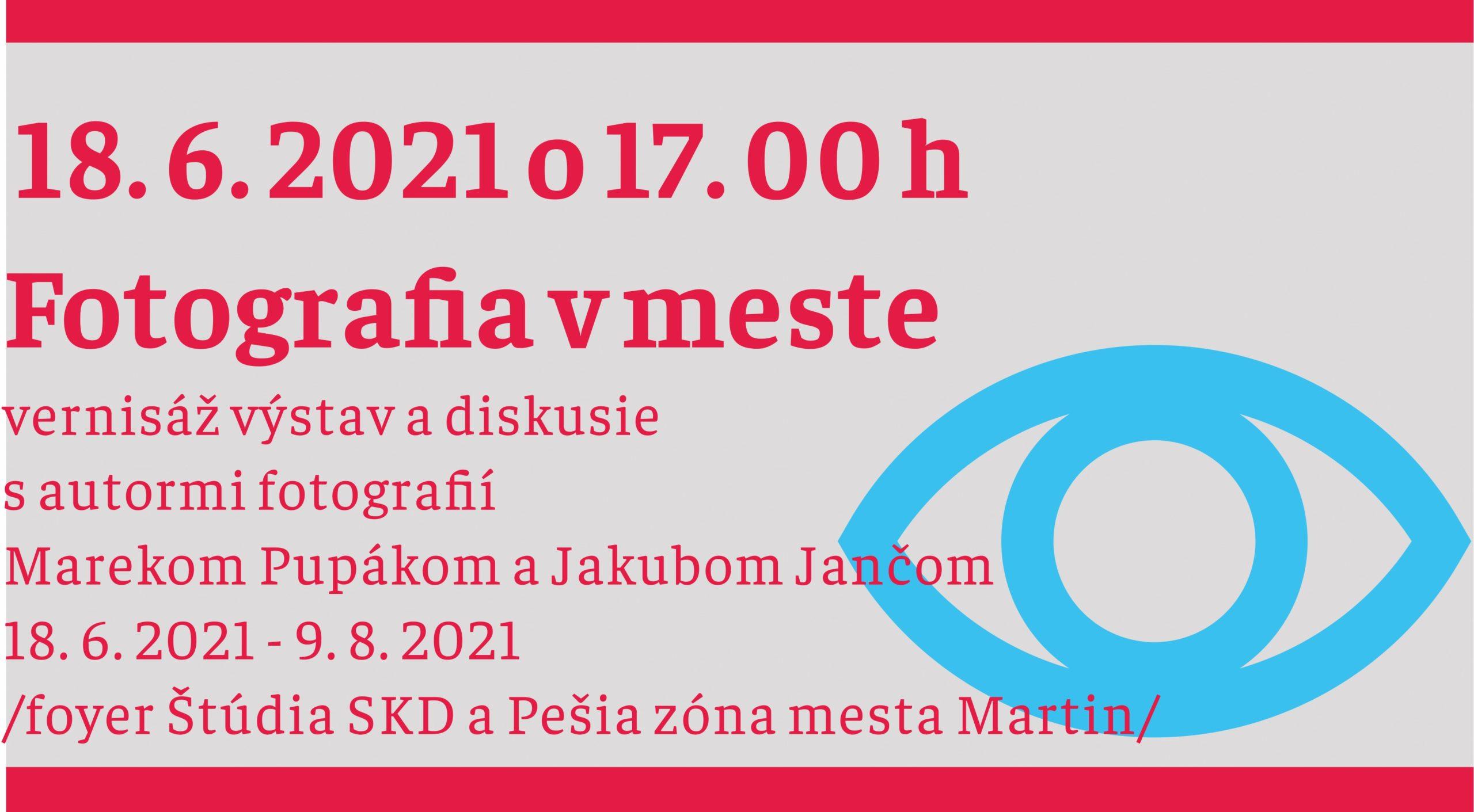 LETNÝ FOTO FEST 2021/Fotografia v meste